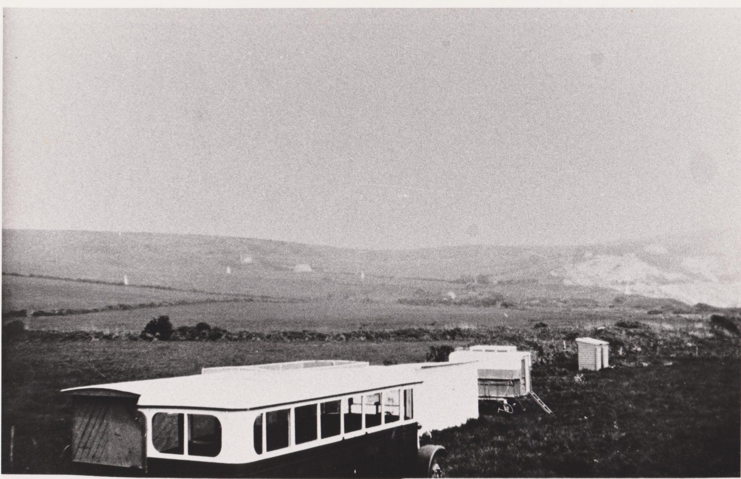 Old caravans in Ringstead 1930s